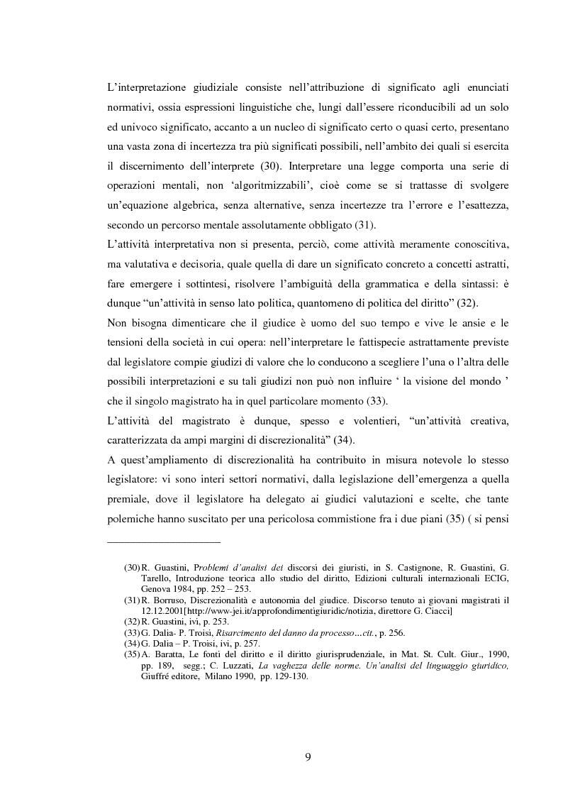 Anteprima della tesi: La responsabilità civile del magistrato e dell'arbitro, Pagina 12