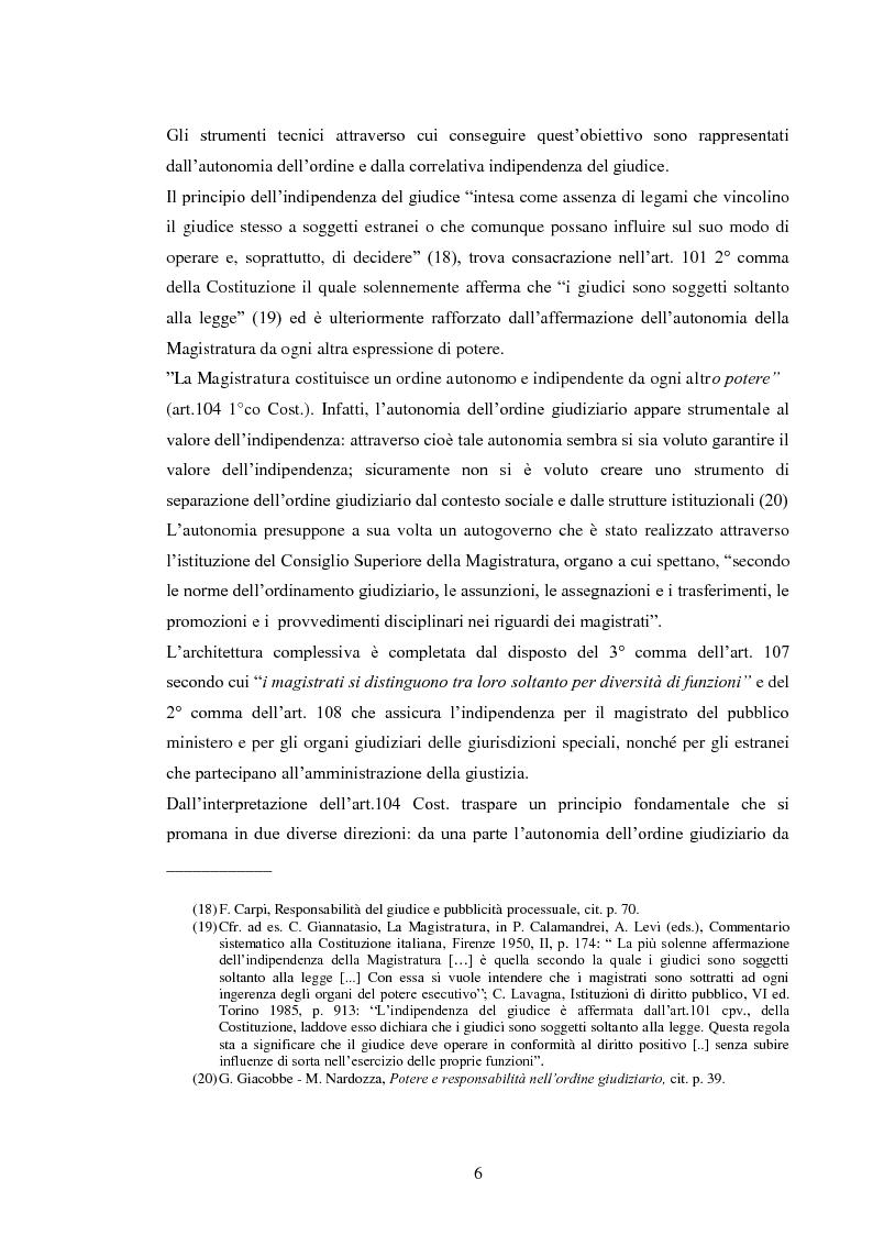 Anteprima della tesi: La responsabilità civile del magistrato e dell'arbitro, Pagina 9