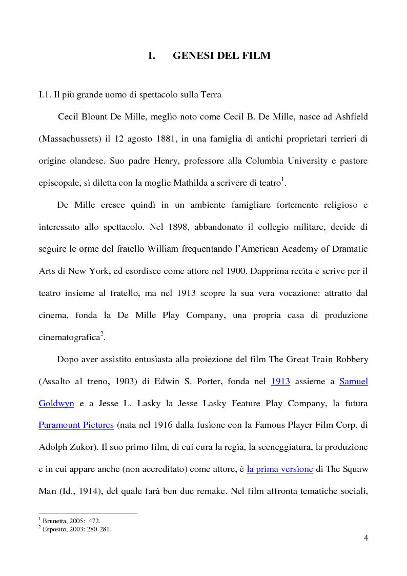 """Anteprima della tesi: L'accoglienza critica italiana a """"The Ten Commandments"""" (I dieci comandamenti, 1956) di Cecil B. De Mille, Pagina 3"""