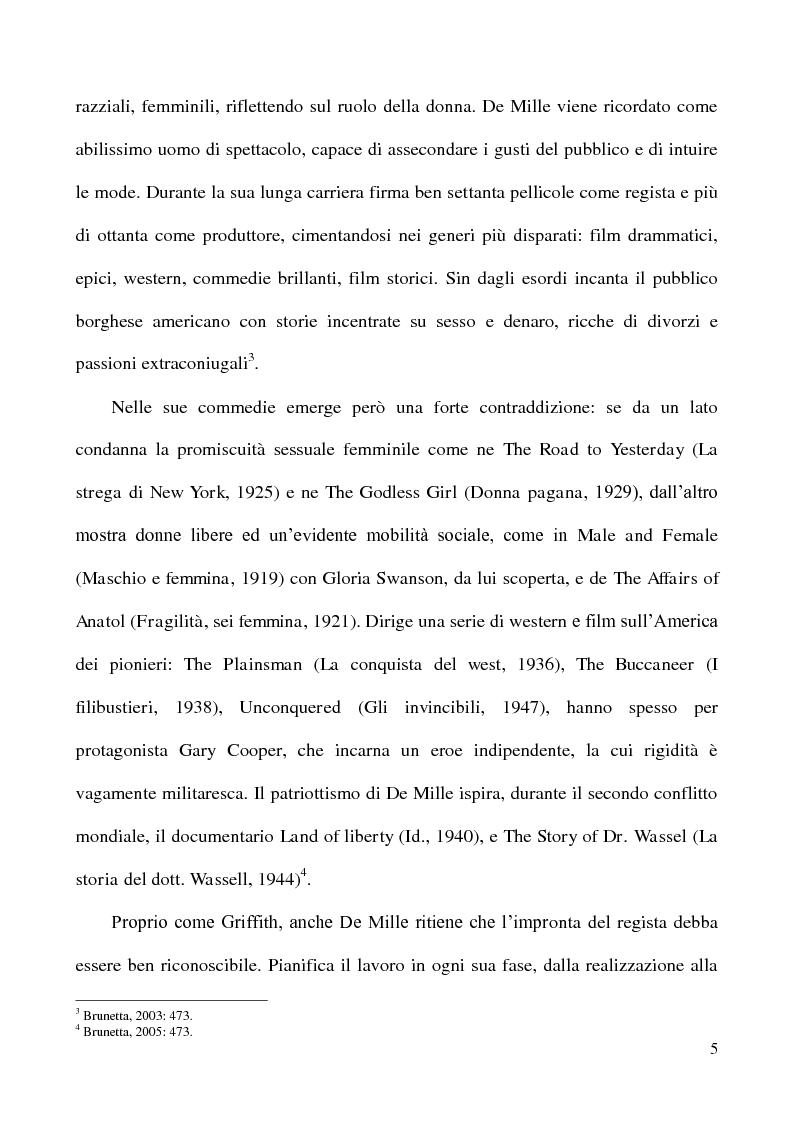 """Anteprima della tesi: L'accoglienza critica italiana a """"The Ten Commandments"""" (I dieci comandamenti, 1956) di Cecil B. De Mille, Pagina 4"""