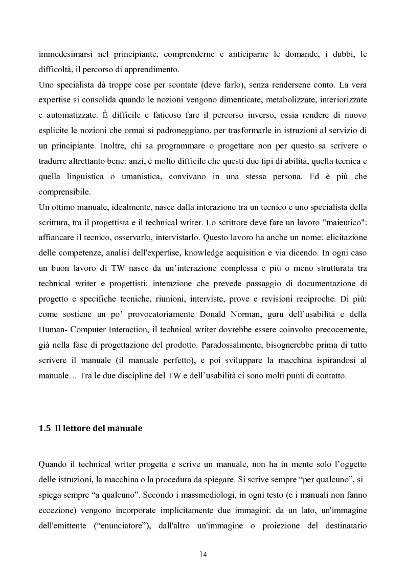Anteprima della tesi: Razionalizzazione della procedura di realizzazione della documentazione tecnica di un bene strumentale., Pagina 10