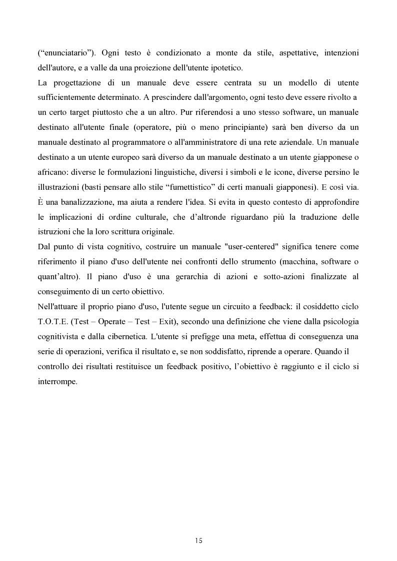 Anteprima della tesi: Razionalizzazione della procedura di realizzazione della documentazione tecnica di un bene strumentale., Pagina 11