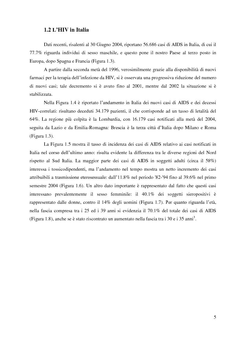 Anteprima della tesi: Selezione di Mutanti HIV-1 Resistenti e Basi Molecolari della Resistenza di Nuovi Inibitori Non-Nucleosidici della Trascrittasi Inversa, Pagina 6
