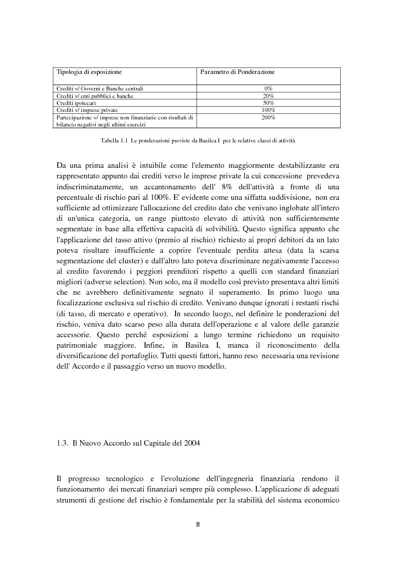 Anteprima della tesi: Basilea 3: l'evoluzione della normativa finanziaria a seguito della crisi dei mercati finanziari, Pagina 4