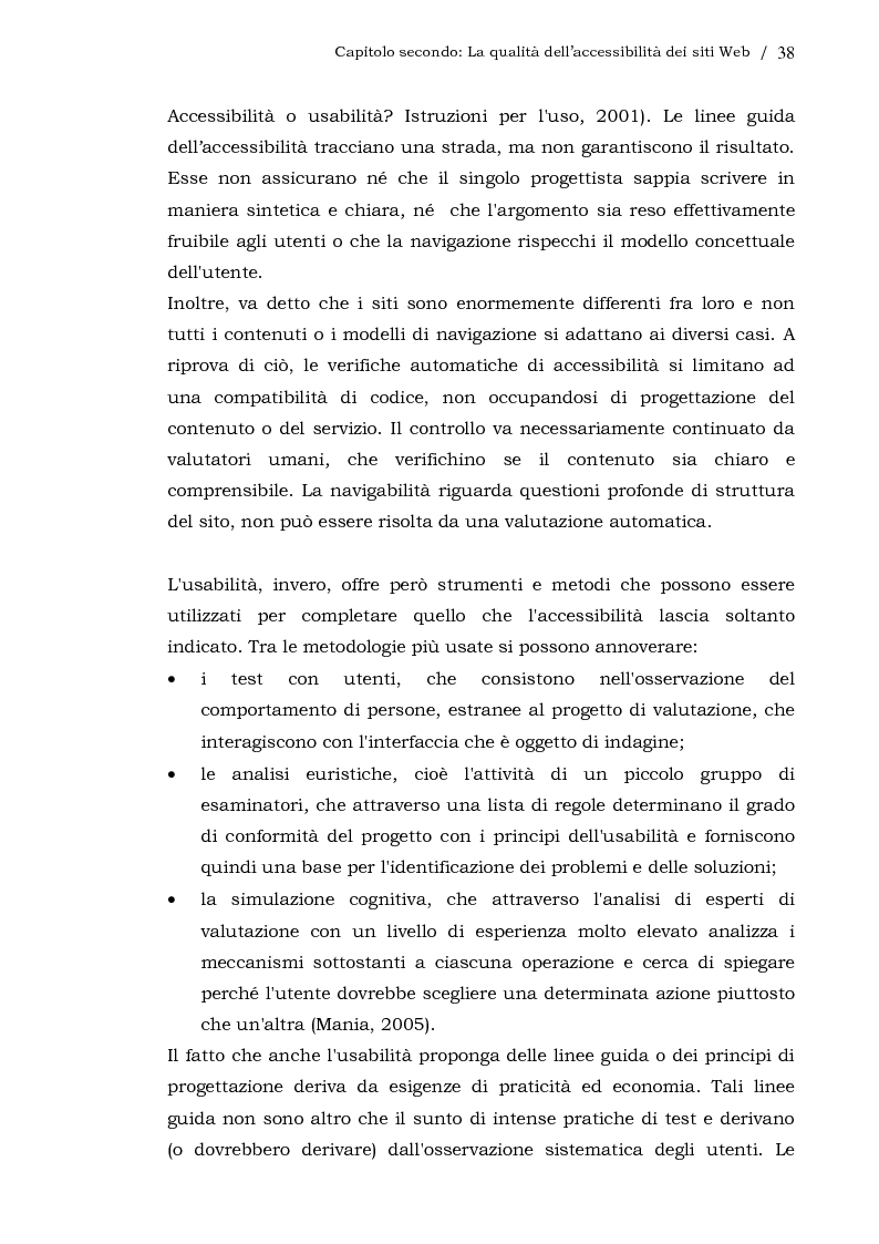 Anteprima della tesi: L'usabilità dei siti Web aziendali - Il caso Telecom Italia, Pagina 11