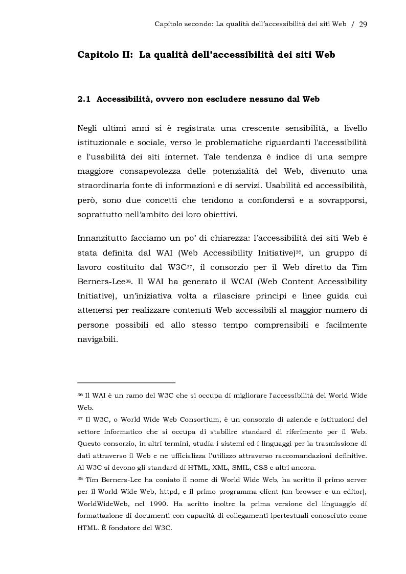 Anteprima della tesi: L'usabilità dei siti Web aziendali - Il caso Telecom Italia, Pagina 2