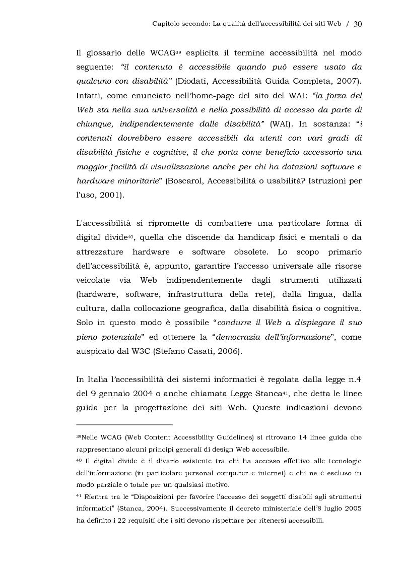 Anteprima della tesi: L'usabilità dei siti Web aziendali - Il caso Telecom Italia, Pagina 3