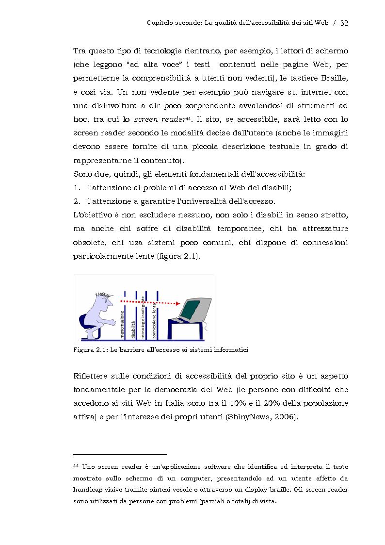 Anteprima della tesi: L'usabilità dei siti Web aziendali - Il caso Telecom Italia, Pagina 5