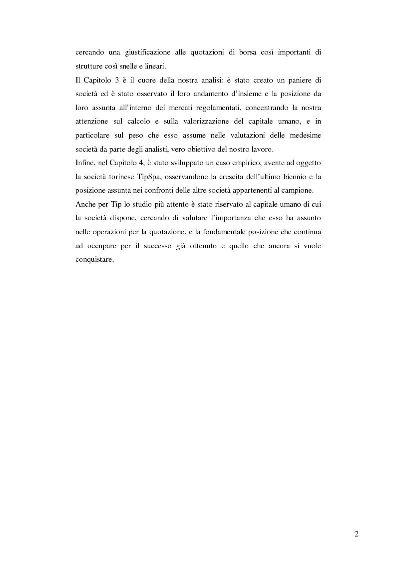 Anteprima della tesi: La quotazione in borsa delle SGR. Analisi e prospettive., Pagina 3