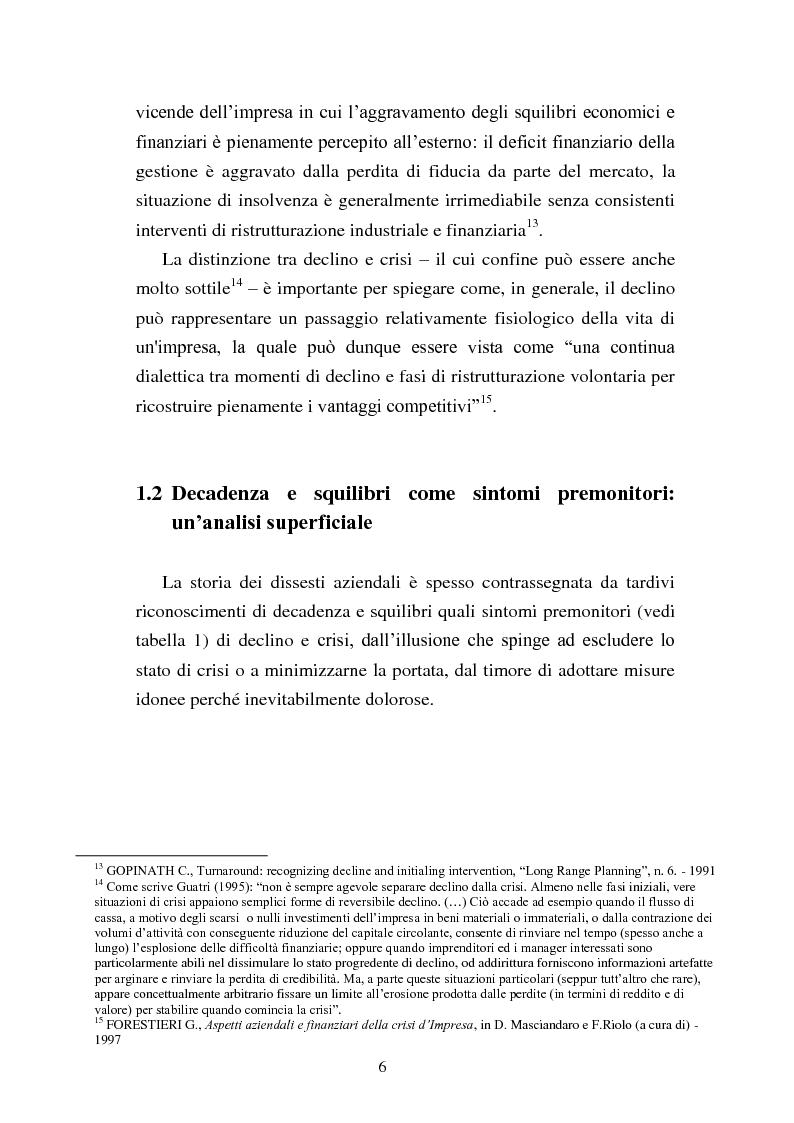 """Anteprima della tesi: Rinegoziazione del debito e ''Turnaround'': Il caso """"Piaggio"""", Pagina 12"""