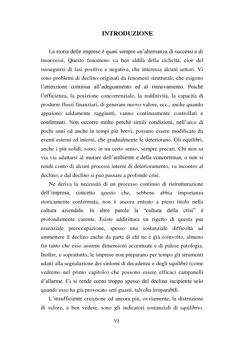 """Anteprima della tesi: Rinegoziazione del debito e ''Turnaround'': Il caso """"Piaggio"""", Pagina 2"""