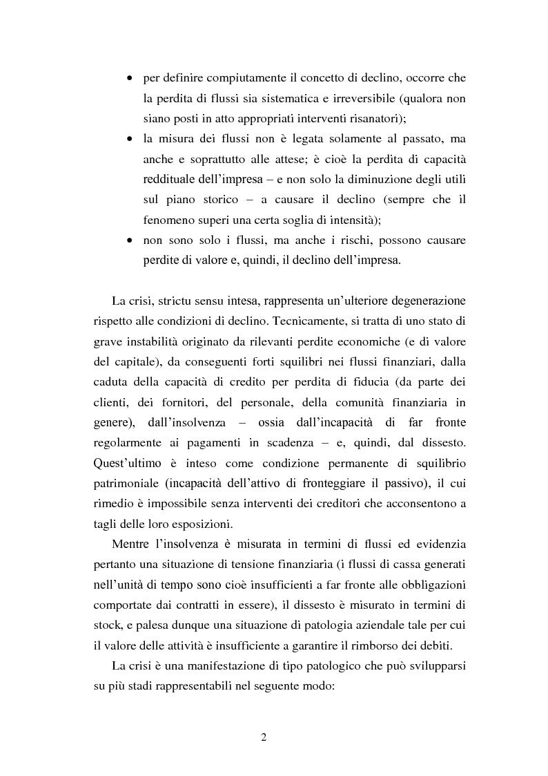 """Anteprima della tesi: Rinegoziazione del debito e ''Turnaround'': Il caso """"Piaggio"""", Pagina 8"""