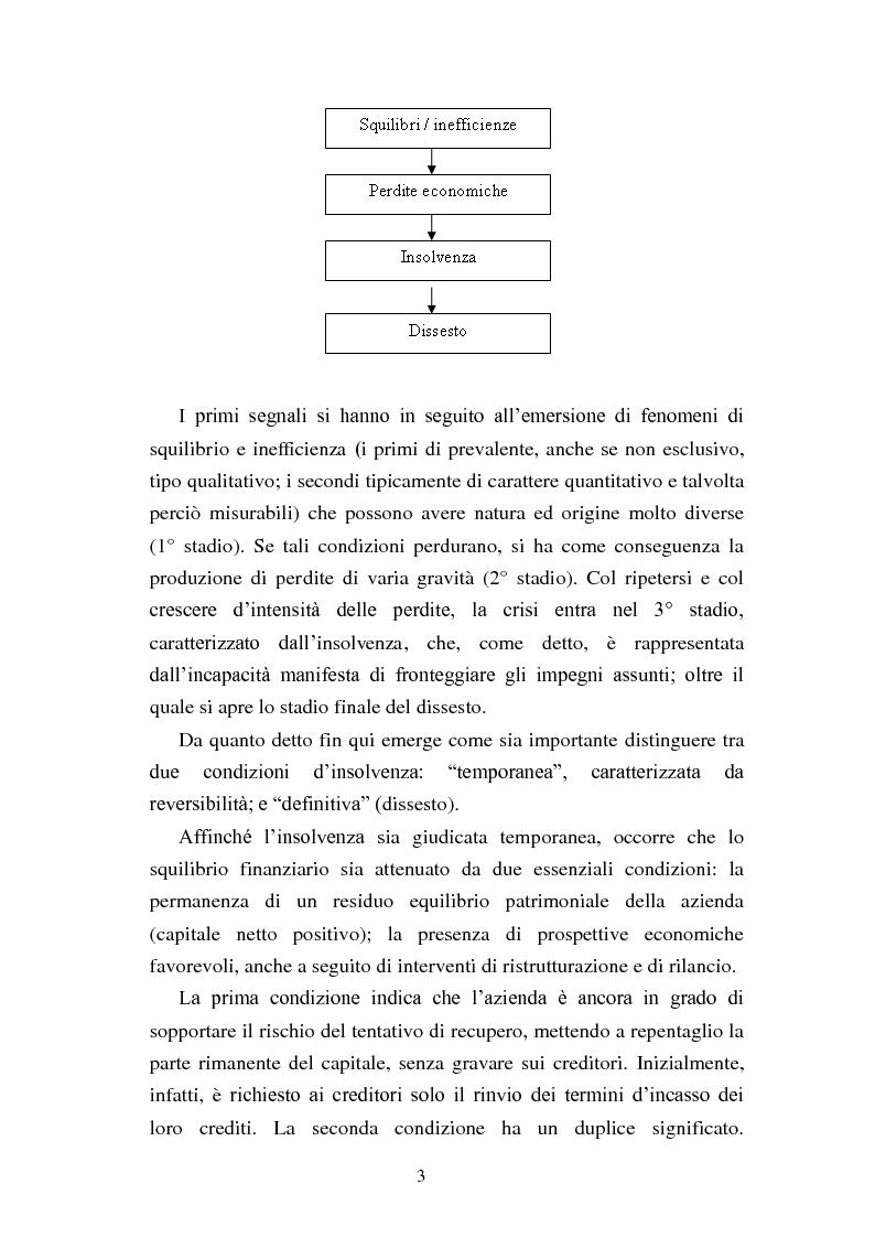 """Anteprima della tesi: Rinegoziazione del debito e ''Turnaround'': Il caso """"Piaggio"""", Pagina 9"""
