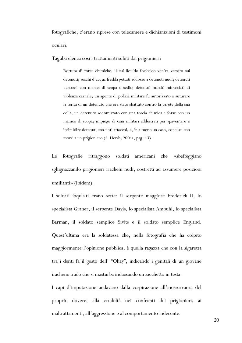 Anteprima della tesi: Le torture di Abu Ghraib nella prospettiva della antropologia della violenza, Pagina 11