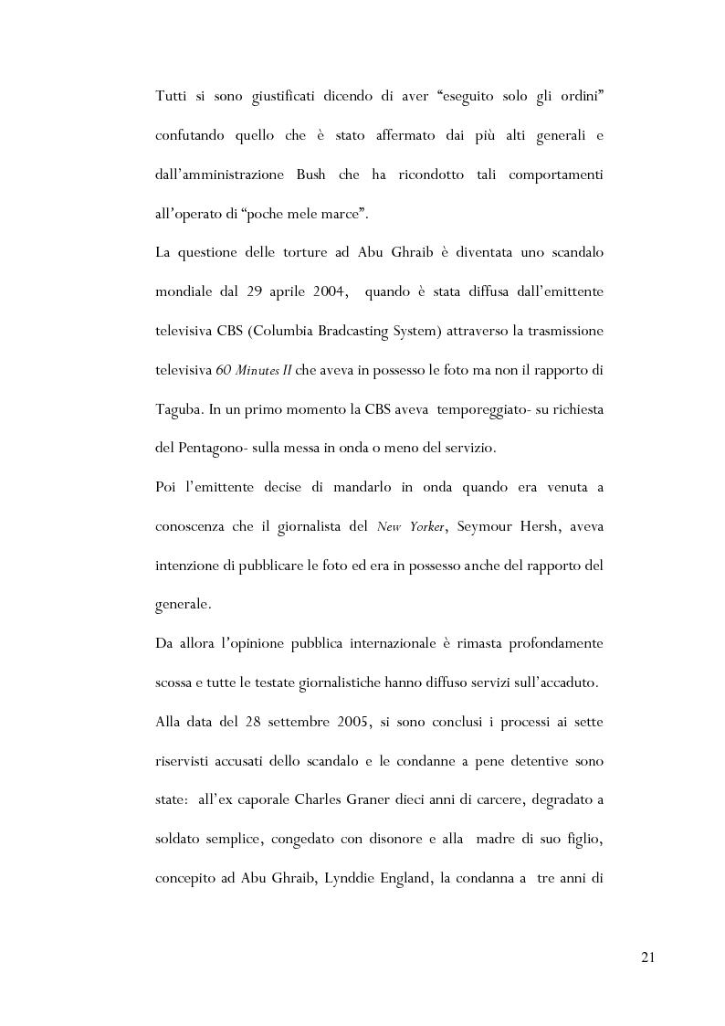Anteprima della tesi: Le torture di Abu Ghraib nella prospettiva della antropologia della violenza, Pagina 12