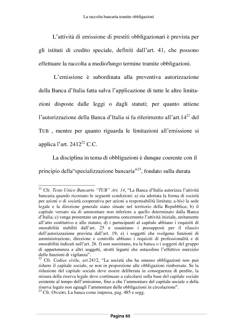 Estratto dalla tesi: Profili contabili e di bilancio del prestito obbligazionario delle banche. Il caso della BCC Irpina