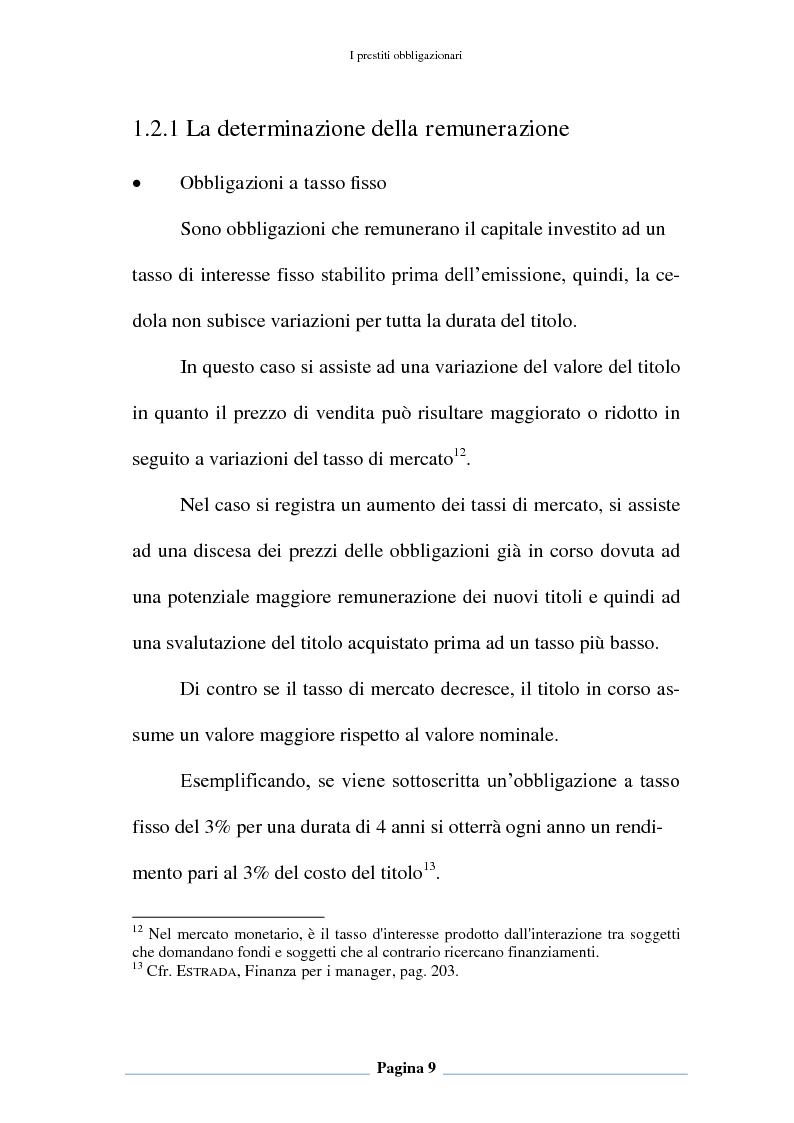 Anteprima della tesi: Profili contabili e di bilancio del prestito obbligazionario delle banche. Il caso della BCC Irpina, Pagina 10