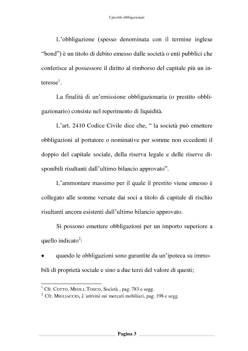 Anteprima della tesi: Profili contabili e di bilancio del prestito obbligazionario delle banche. Il caso della BCC Irpina, Pagina 4