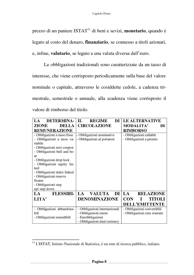 Anteprima della tesi: Profili contabili e di bilancio del prestito obbligazionario delle banche. Il caso della BCC Irpina, Pagina 9