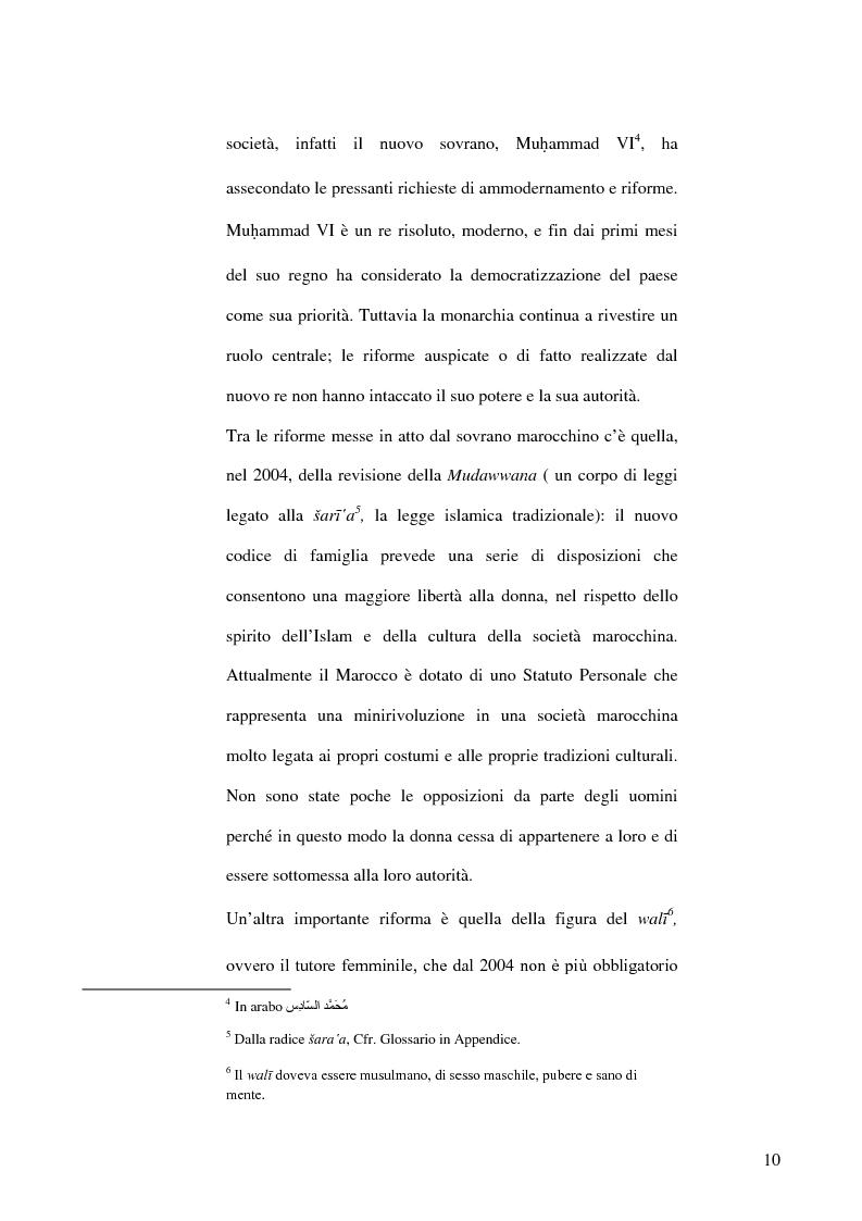 Anteprima della tesi: Fatima Mernissi: analisi del linguaggio di una scrittrice marocchina., Pagina 9