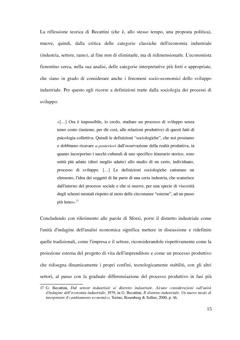 Anteprima della tesi: Il distretto industriale marshalliano, Pagina 11