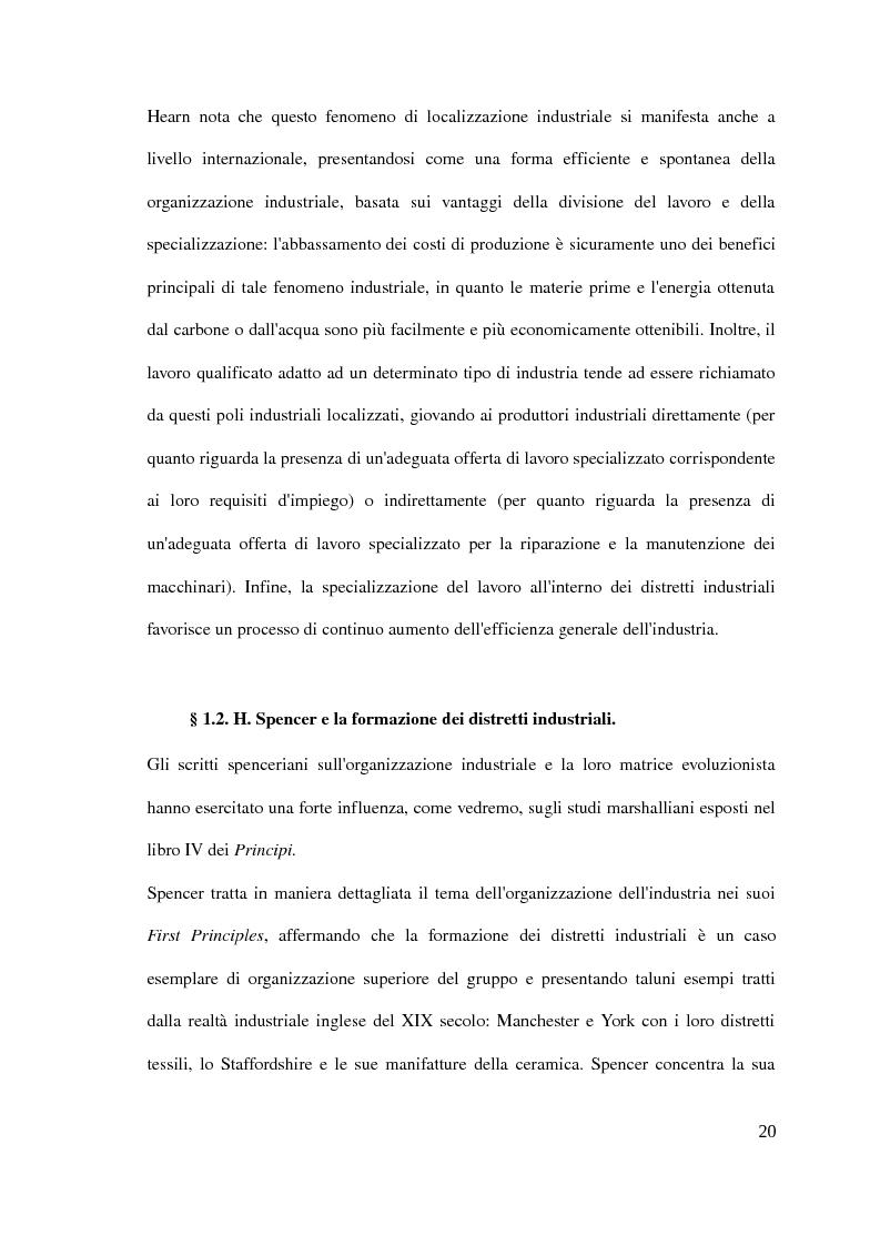 Anteprima della tesi: Il distretto industriale marshalliano, Pagina 16