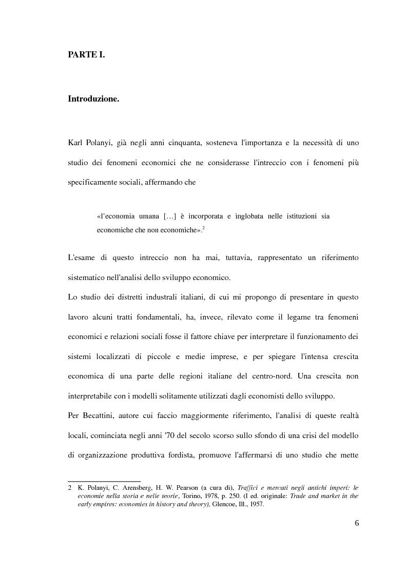 Anteprima della tesi: Il distretto industriale marshalliano, Pagina 2