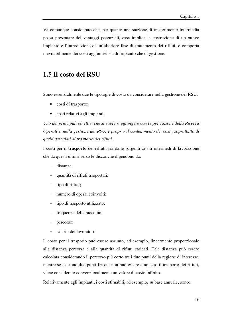 Anteprima della tesi: Pianificazione logistica basata su rilevazioni real time, Pagina 13