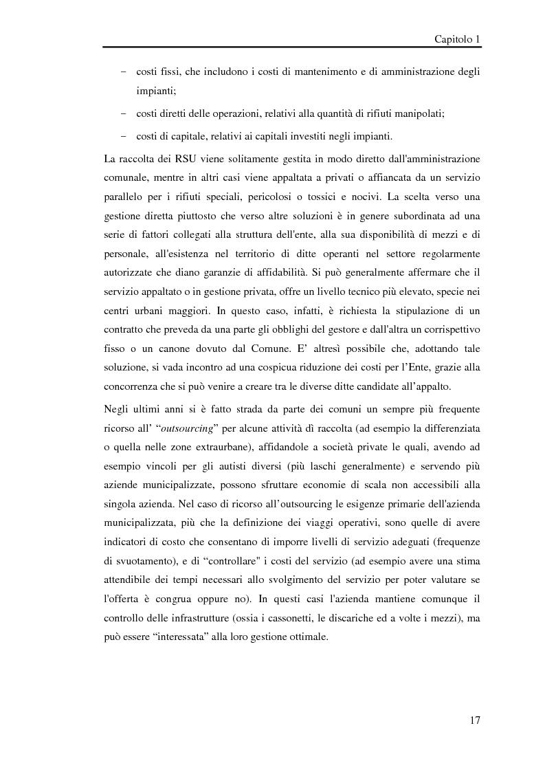 Anteprima della tesi: Pianificazione logistica basata su rilevazioni real time, Pagina 14