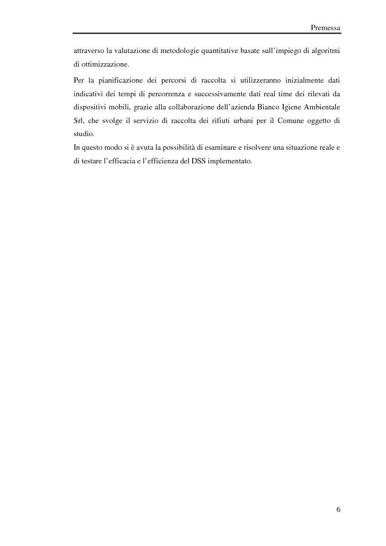 Anteprima della tesi: Pianificazione logistica basata su rilevazioni real time, Pagina 3