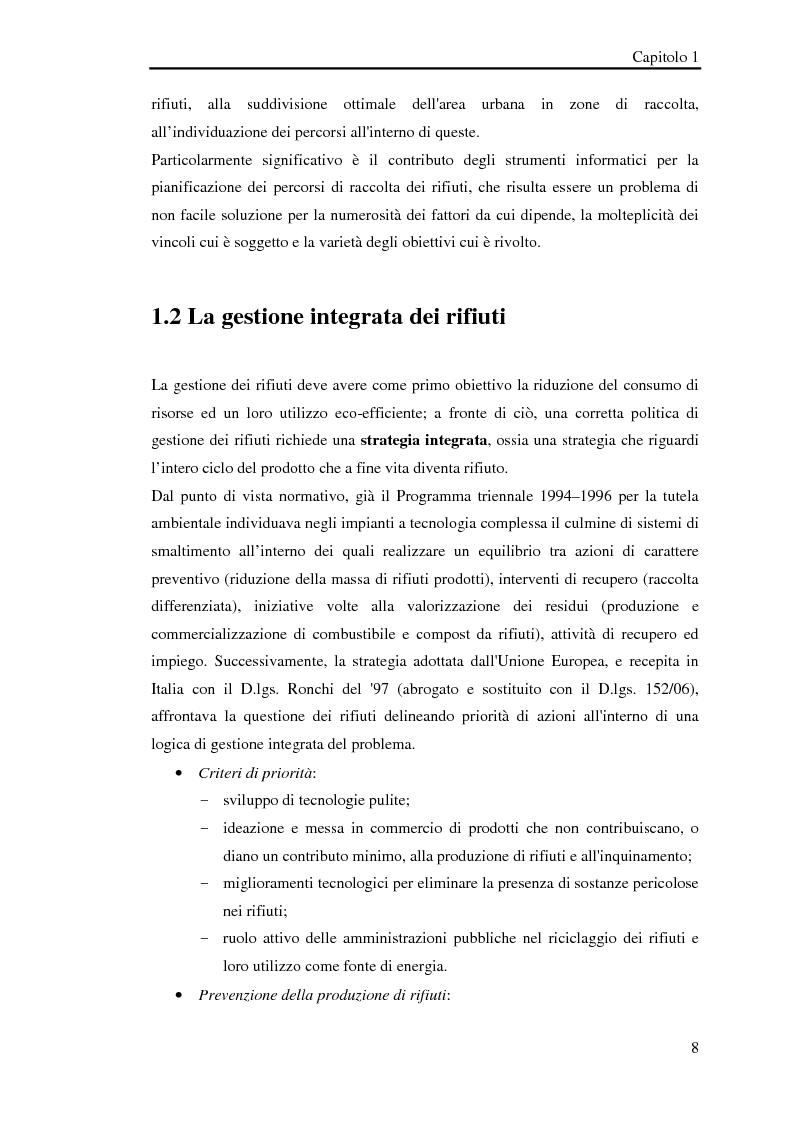 Anteprima della tesi: Pianificazione logistica basata su rilevazioni real time, Pagina 5