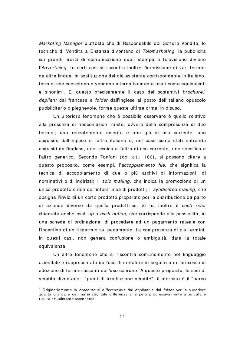 Anteprima della tesi: La comunicazione aziendale del ventunesimo secolo: analisi di un corpus di email in lingua inglese, Pagina 12