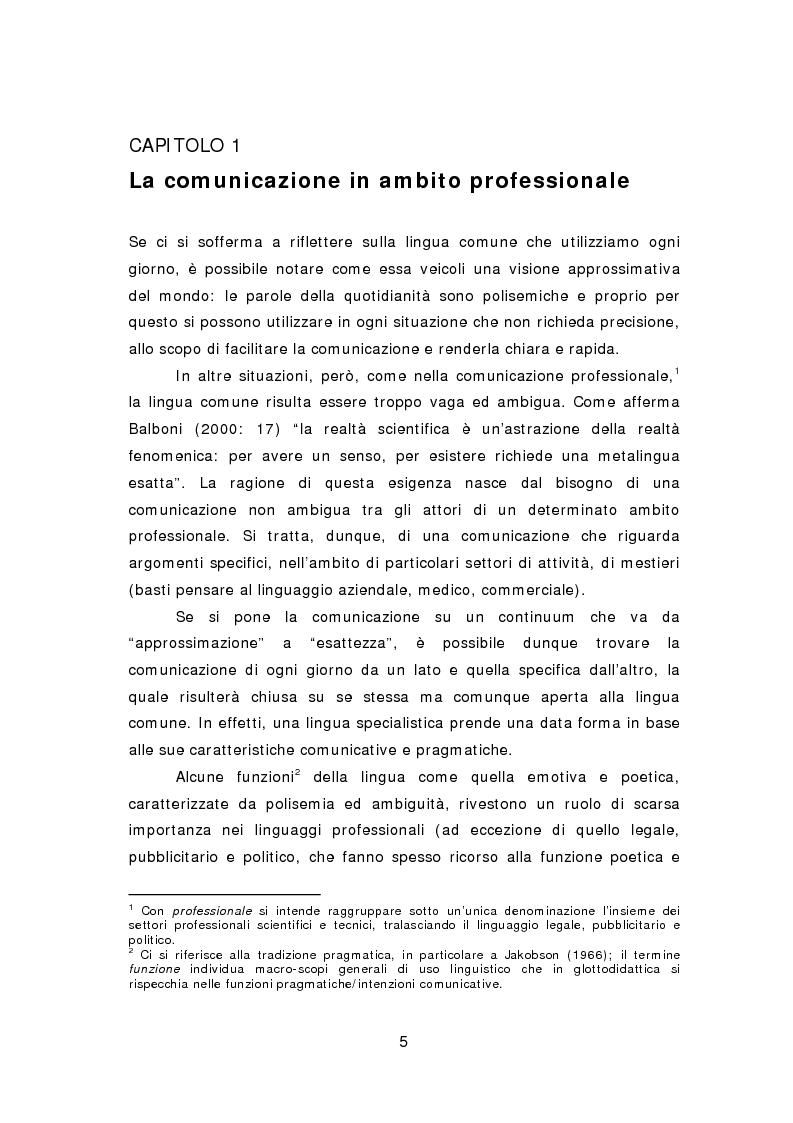 Anteprima della tesi: La comunicazione aziendale del ventunesimo secolo: analisi di un corpus di email in lingua inglese, Pagina 6