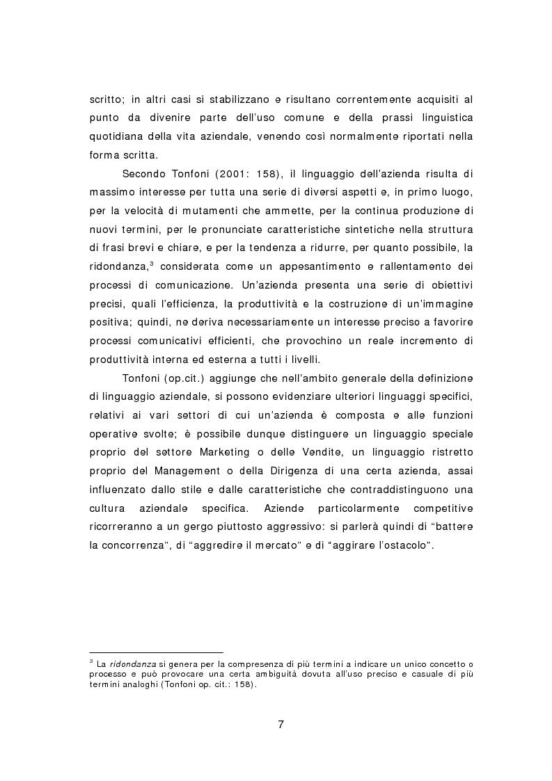 Anteprima della tesi: La comunicazione aziendale del ventunesimo secolo: analisi di un corpus di email in lingua inglese, Pagina 8