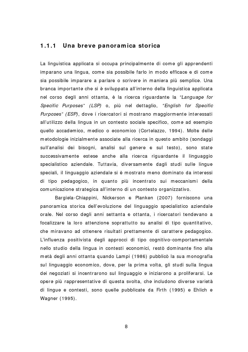 Anteprima della tesi: La comunicazione aziendale del ventunesimo secolo: analisi di un corpus di email in lingua inglese, Pagina 9