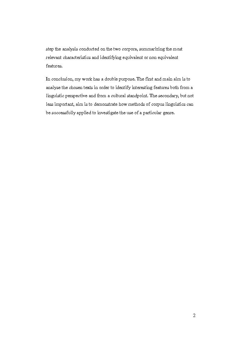 Anteprima della tesi: Promotional language for bank accounts: a corpus driven analysis through web sites comparable corpora., Pagina 3