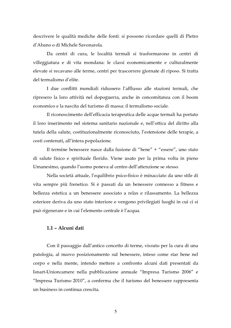 Anteprima della tesi: L'innovazione di un hotel con centro benessere, Pagina 3