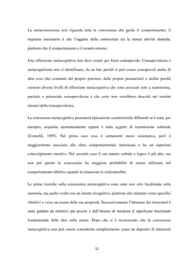 Anteprima della tesi: Disturbo dell'alimentazione e processo psicoterapeutico: studio preliminare single-case sull'interruzione precoce del trattamento terapeutico da parte di una paziente affetta da Anoressia Nervosa, Pagina 11