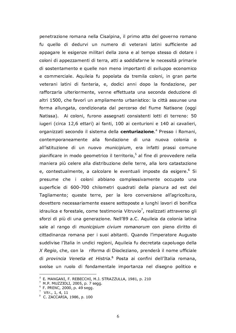 Anteprima della tesi: Aquileia Caput Viarum, Pagina 5