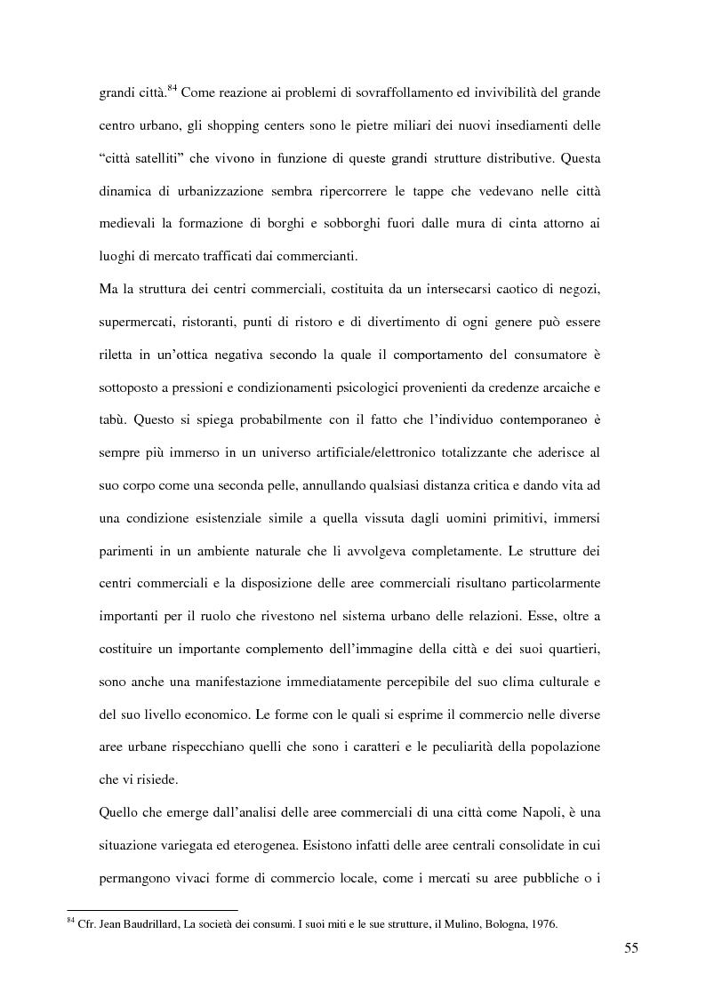 Anteprima della tesi: I nuovi luoghi del consumo. Produzione di senso e ricerca identitaria attraverso la pratica dello shopping, Pagina 4