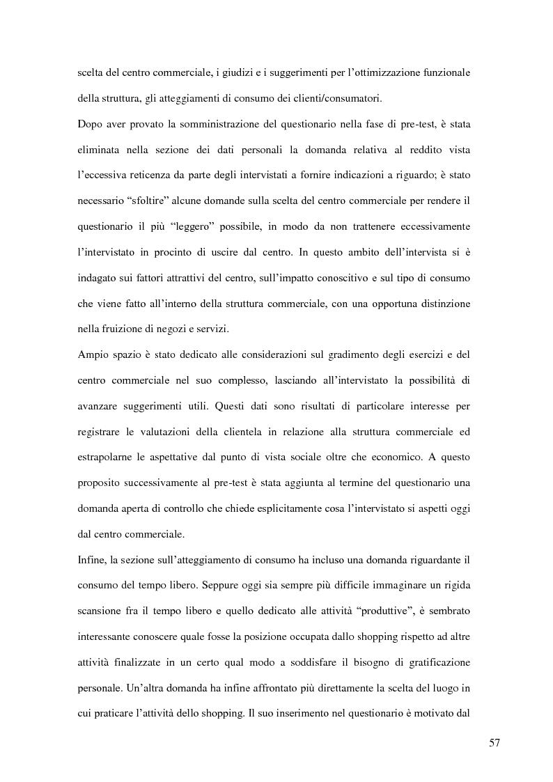 Anteprima della tesi: I nuovi luoghi del consumo. Produzione di senso e ricerca identitaria attraverso la pratica dello shopping, Pagina 6