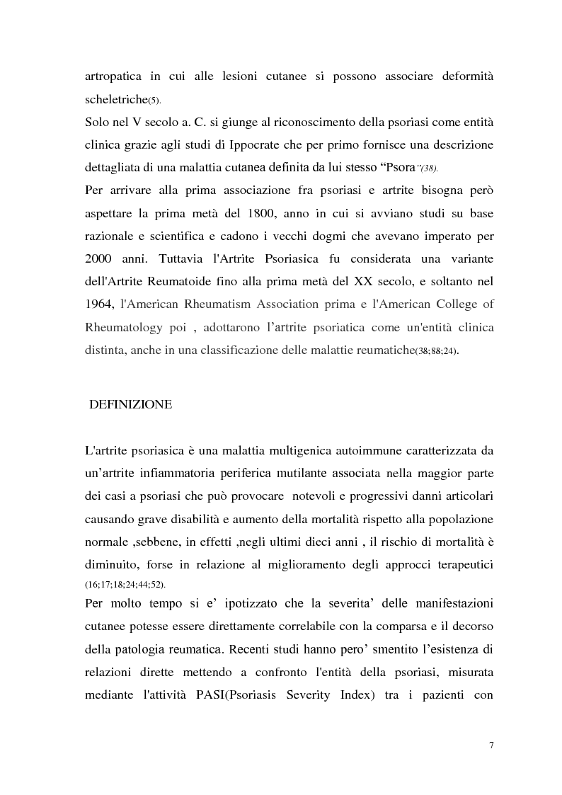 Anteprima della tesi: Artrite Psoriasica dell'ATM, Pagina 3