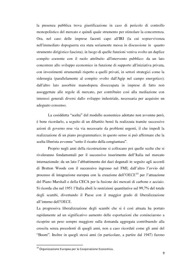Anteprima della tesi: Integrazione Europea e diversione dei traffici: l'esperienza italiana., Pagina 10