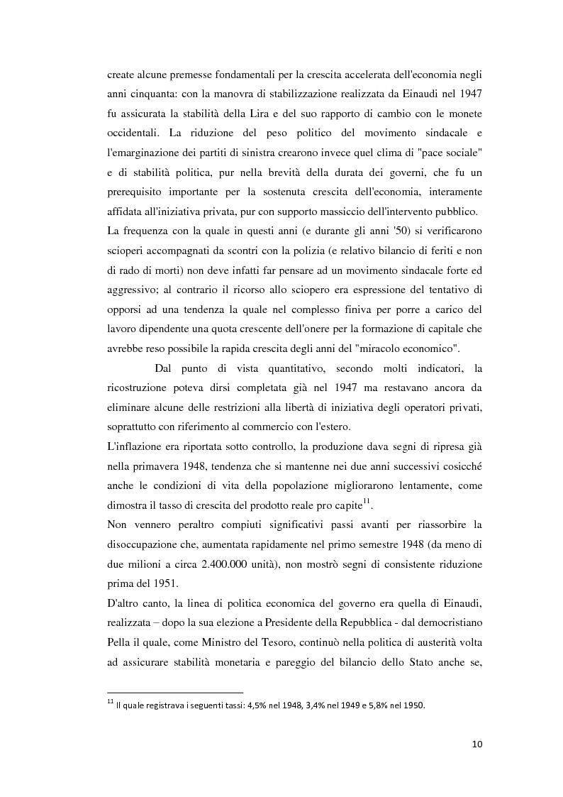 Anteprima della tesi: Integrazione Europea e diversione dei traffici: l'esperienza italiana., Pagina 11
