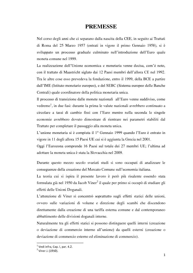 Anteprima della tesi: Integrazione Europea e diversione dei traffici: l'esperienza italiana., Pagina 2
