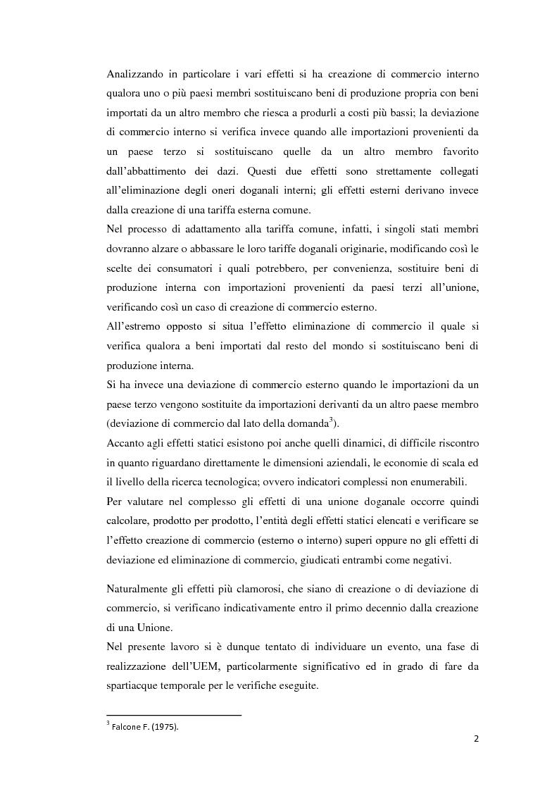 Anteprima della tesi: Integrazione Europea e diversione dei traffici: l'esperienza italiana., Pagina 3