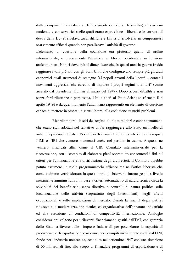 Anteprima della tesi: Integrazione Europea e diversione dei traffici: l'esperienza italiana., Pagina 8