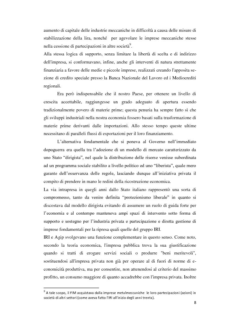 Anteprima della tesi: Integrazione Europea e diversione dei traffici: l'esperienza italiana., Pagina 9
