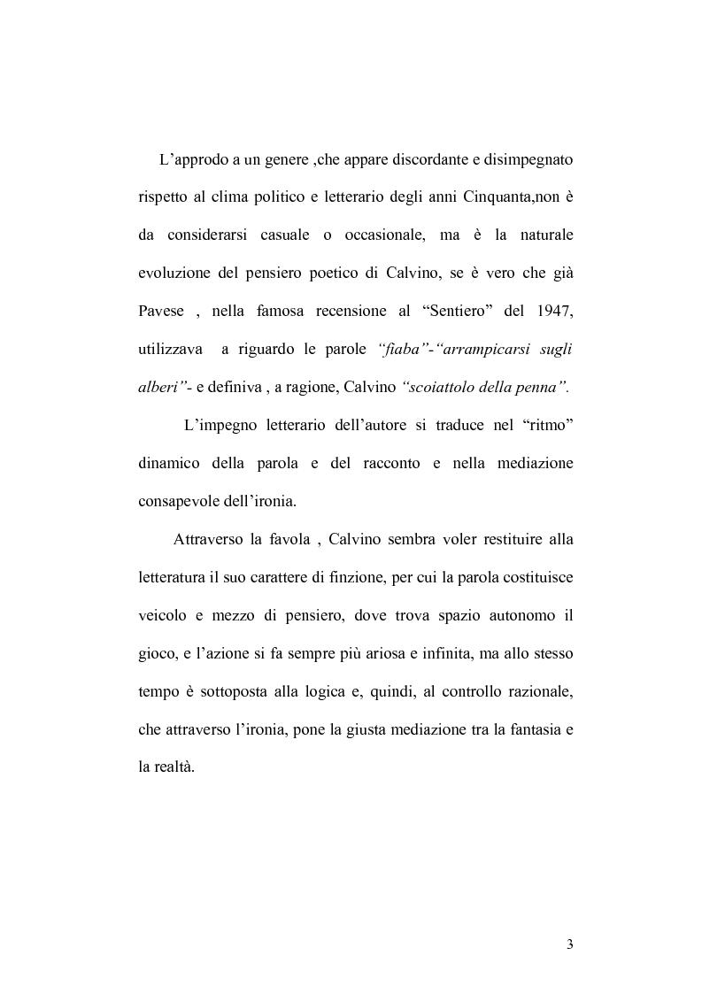 Anteprima della tesi: Presenze di Ludovico Ariosto nella narrativa di Italo Calvino, Pagina 3