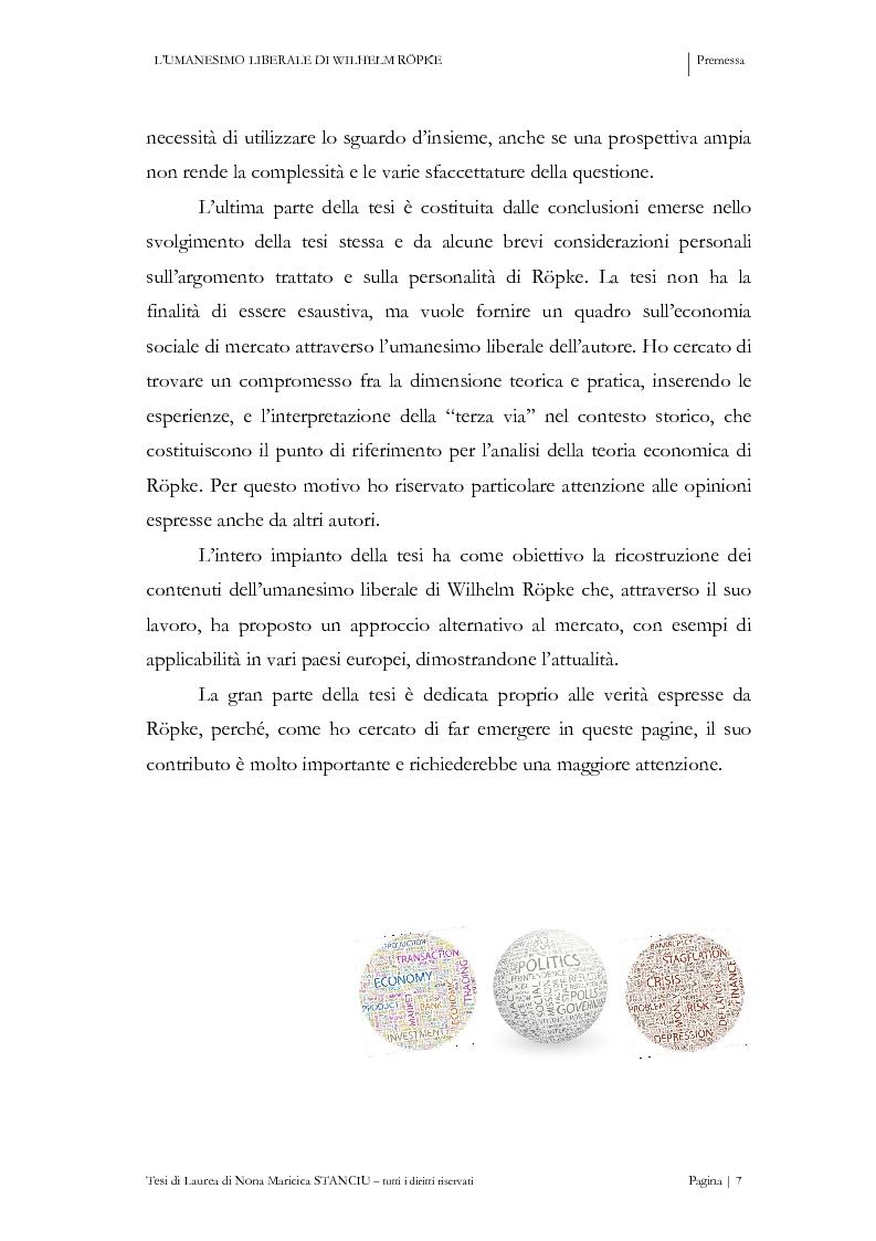 Anteprima della tesi: L'Umanesimo Liberale di Wilhelm Röpke, Pagina 6